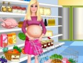 Barbie Enceinte Du Shopping