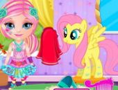 Bébé Barbie Petit Poney 2