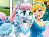 Cendrillon Et Son Poney