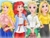 Disney Princess Back To School
