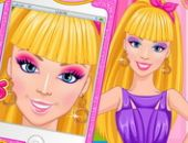 La princesse Selfie MAquillagede Conception