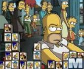 Mahjong Simpsons Temps