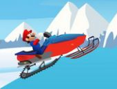 Mario Neige Aventure du mobile Time