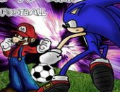Mario Vs Sonic Football de La lutte