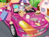 Nettoyer Ma Voiture Rose Temps