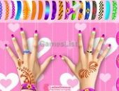 Partie Ongles Maquillage