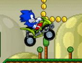 Super Sonic ATV Mario Grand Terrain