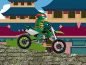 Tortues Ninja Motard Aventure